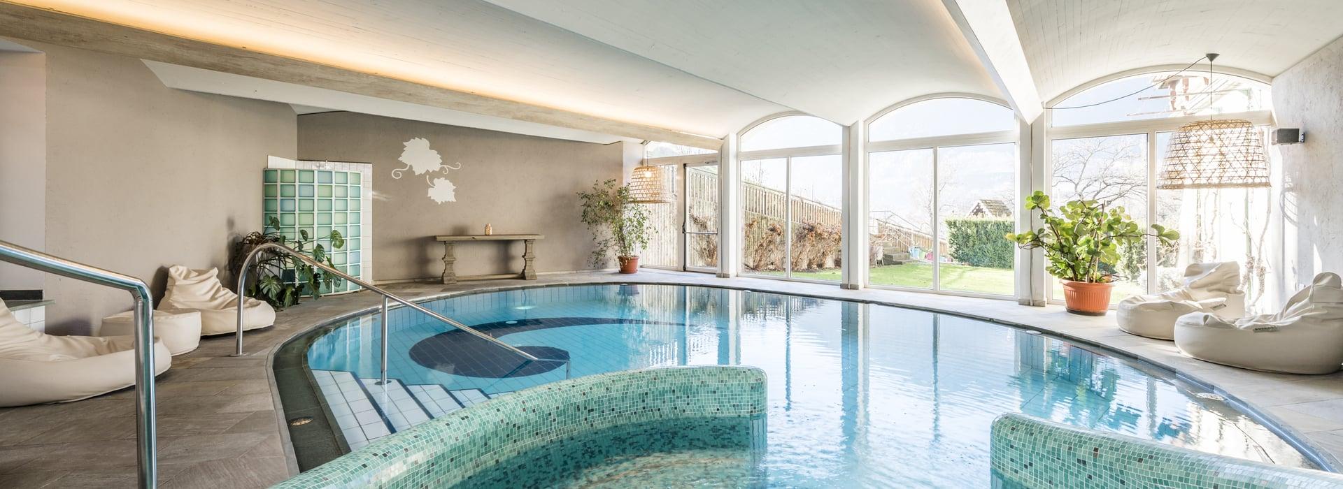 Sauna e piscina pacher hotel a bressanone con piscina - Piscine con scivoli bressanone ...