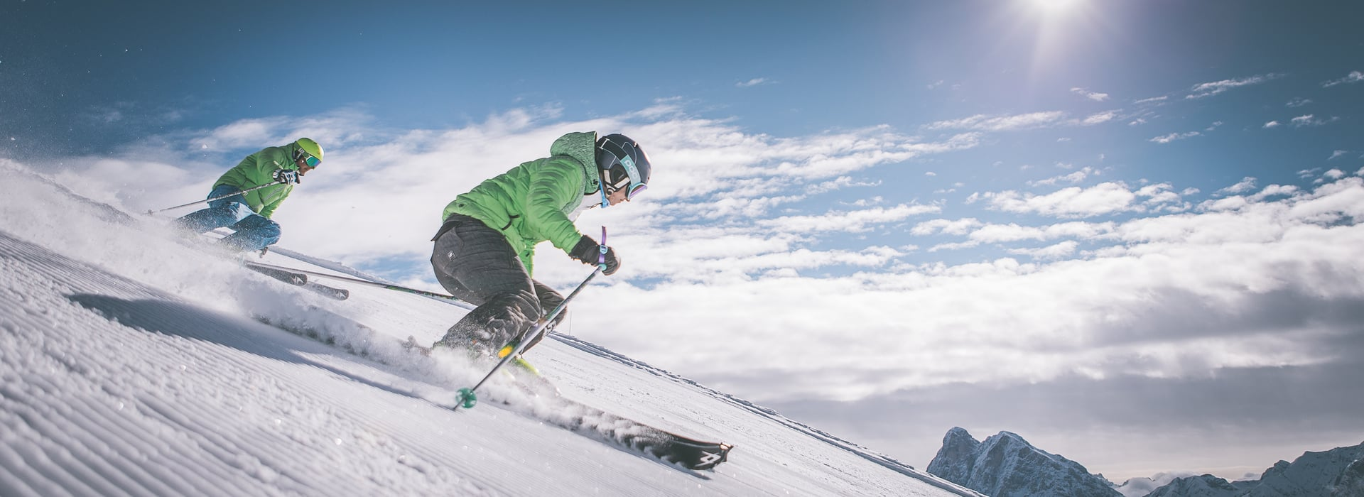 Skiing is a joy – pure and simple